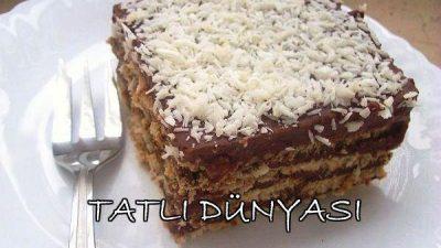 Hanımeller Bisküvili Pasta