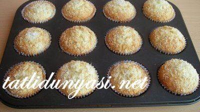 Muzlu Hindistan Cevizli Muffin