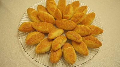 Patatesli Badem Kurabiye