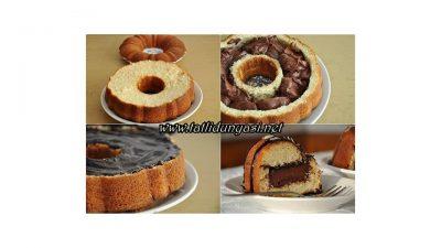 Dolgu Kremalı Kek