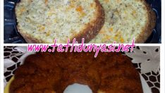 Havuçlu Cevizli Haşhaşlı Kek
