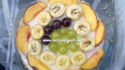 Meyveli Pratik Yaş Pasta