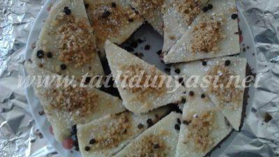 Kakao Bisküvili İrmik Pastası