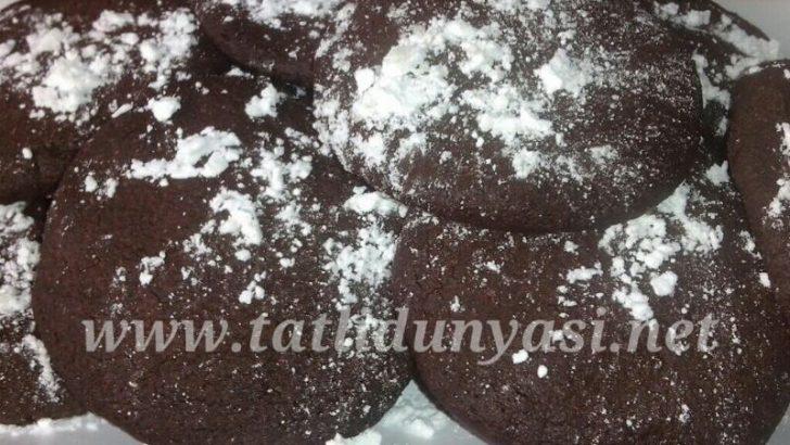 Çikolata Pudingli Kurabiye