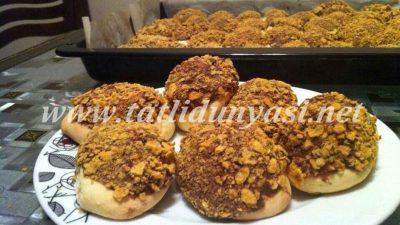 Nutellalı Mısır Gevrekli Çıtır Kurabiye