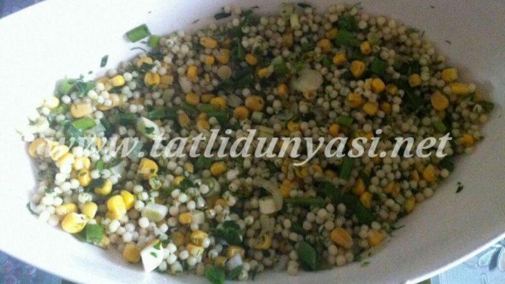 Mısırlı Kuskus Salatası