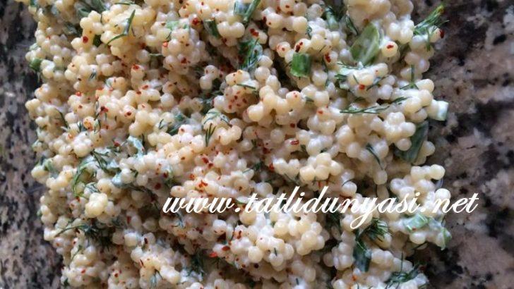 Mayonezli Kuskus Salatası
