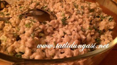 Mayonezli Yoğurtlu Buğday Salatası
