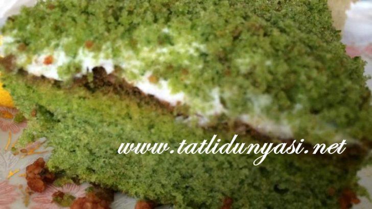 Ispanaklı Kremşantili Kek