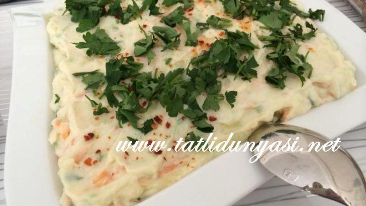 Salatalıklı Havuçlu Patates Salatası