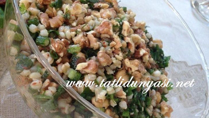 Bakliyat Salatası