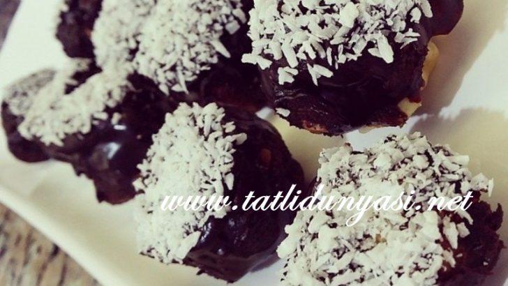 Fındıklı Çikolatalı Hurma Topları