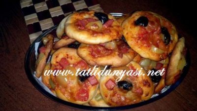 İkramlık Mini Pizza