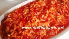 Pirinçli Domates Yemeği