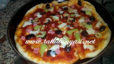Tavada Pratik Sahur Pizzası