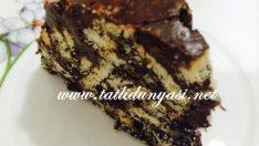 Damla Çikolatalı Mozaik Pasta