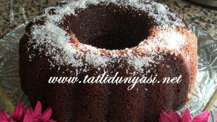 Kek Kalıbında Kakaolu Islak Kek