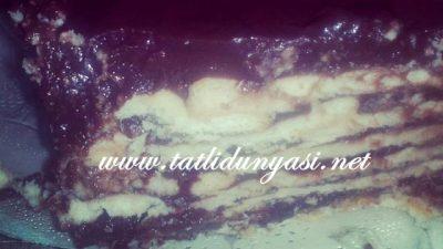 Bisküvili Puding Pastası