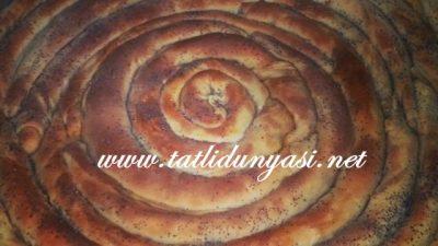 Patatesli El Açması Bükme Kol Böreği