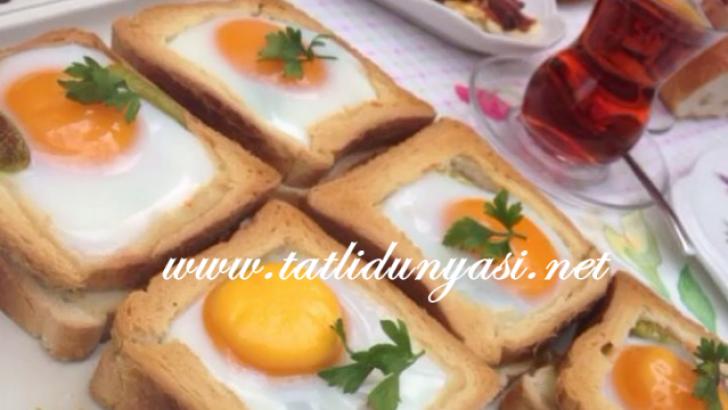 Yumurtalı Sucuklu Tost