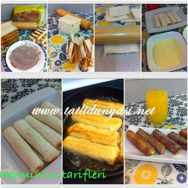 Kahvaltılık Tost Ekmeği Kızartması