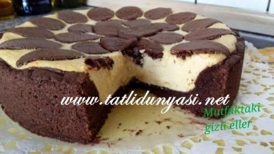 Rus Usulü Cheesecake (Russicher Zupfkuchen)