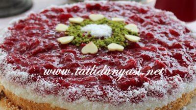 İrmik Kremalı Pasta