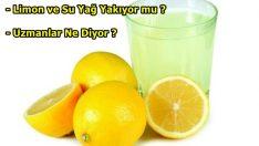 Sabahları Limonlu Su İçerek Zayıflanır mı ?