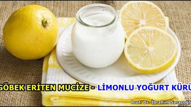Limonlu Yoğurt Kürü Mucizesi ile Göbek Eritme