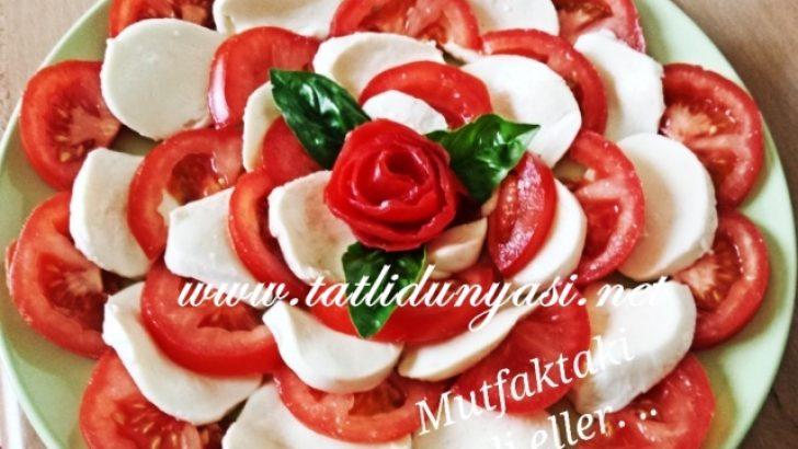 Mozzarella Salatası