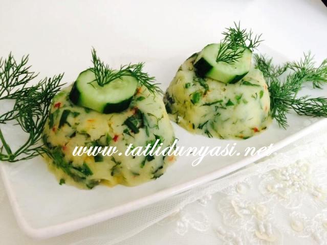 Sebzeli Püre Patates