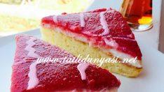 Çilekli Islak Pasta