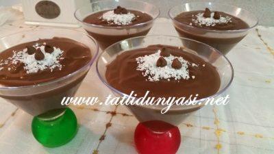 Çikolatalı Puding (Ev Yapımı)
