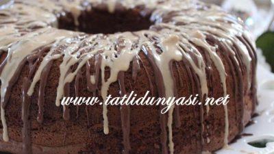 Cevizli Çikolatalı Kek