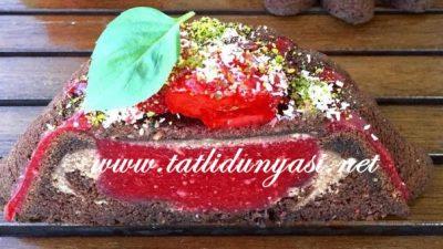 Çilek Aromalı Kek