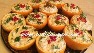 Portakal Çanağında Kereviz Salatası