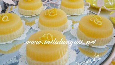Limonlu Mandalinalı Sütlü İrmik Tatlısı