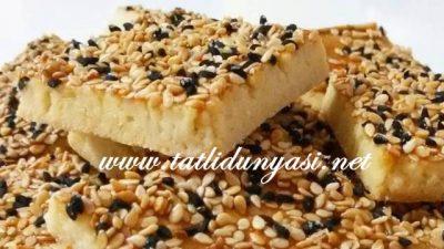 Tuzlu Susamlı Çörek Otlu Kurabiye