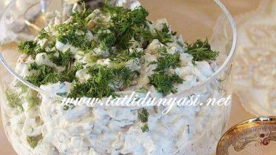 Tavuklu Patlıcan Salatası