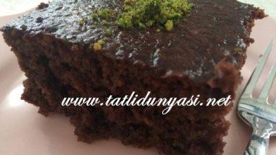 Çikolatalı Nefis Islak Kek