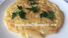 Makarna Omlet (Artan makarnayla)