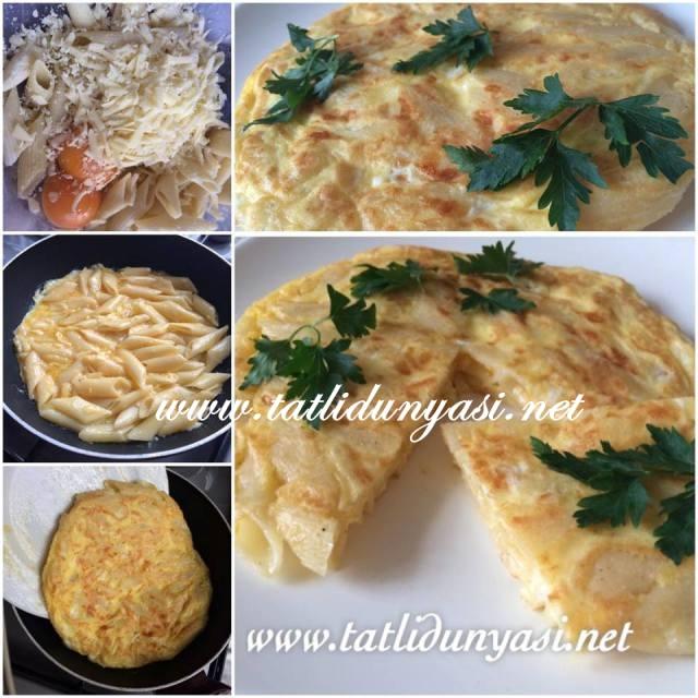 makarna-omlet-tarifi