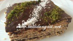 Borcamda Bisküvili Pasta