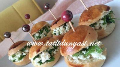 Minik Sandviç Poğaça