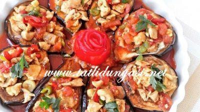 Zerdeçallı Patlıcan Dolması