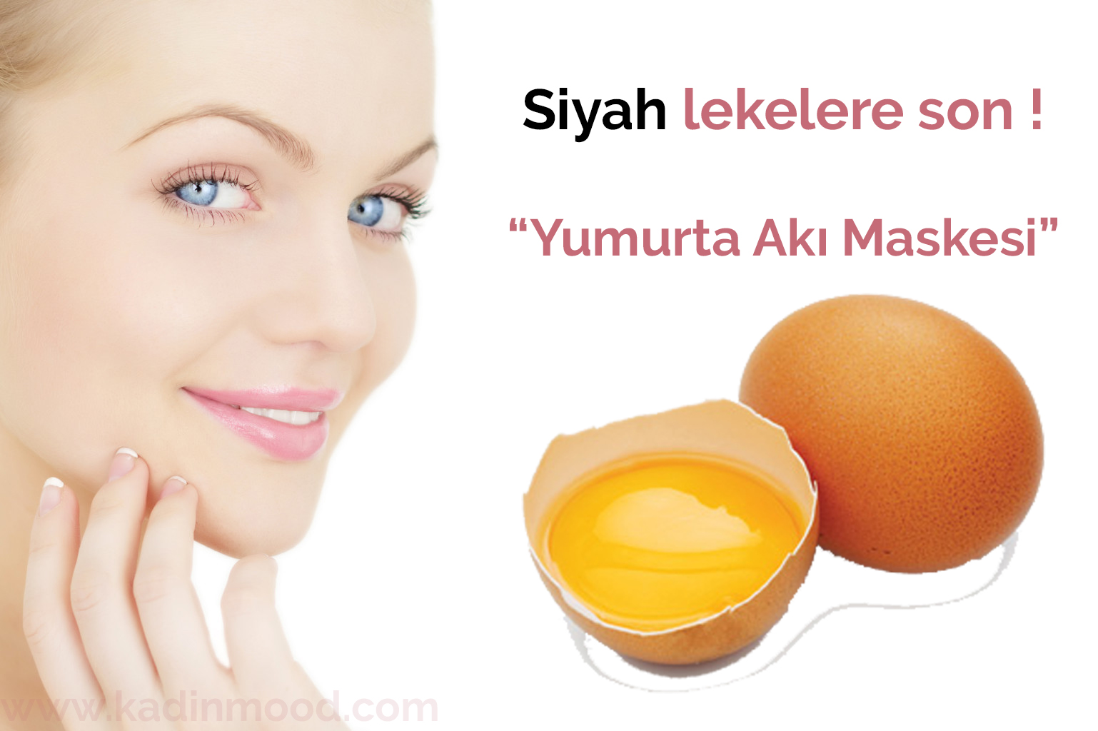 Yumurta akı maskesi tarifleri