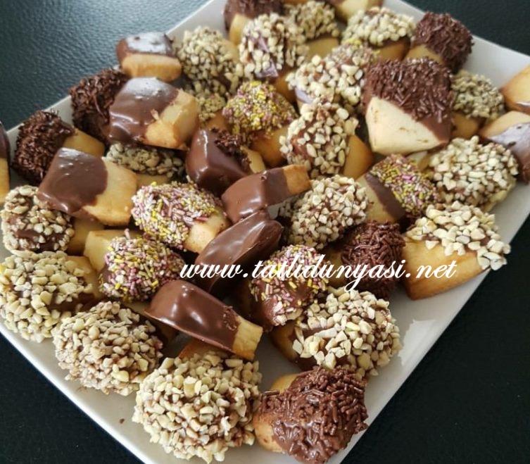 Çikolatalı Un Kurabiyeleri