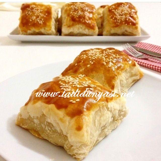 Tavuklu Milföy Börek