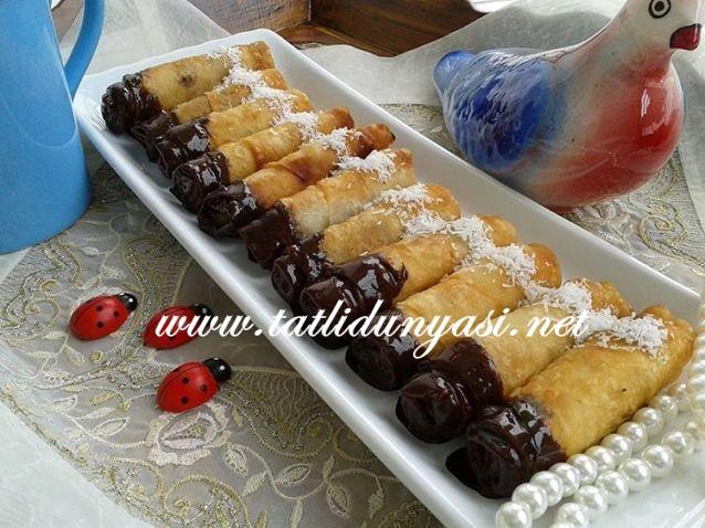 Çikolatalı Kızartma Börek