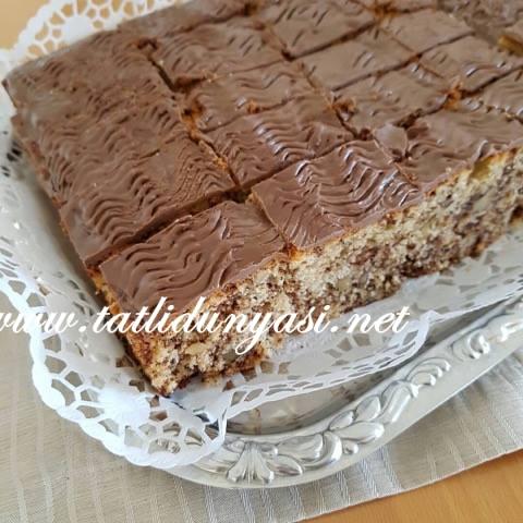 Çikolatalı Cevizli Kek